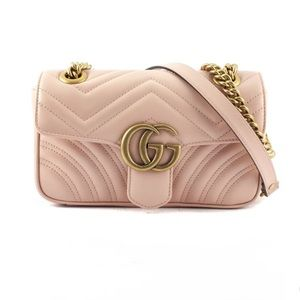 Gucci GG Marmont matelassé leather bag mini